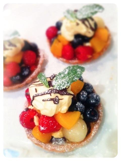fruit tart Cherie Kelly Cake London