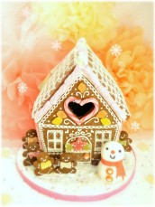 Pretty Gingerbread House Cherie Kelly Cake London