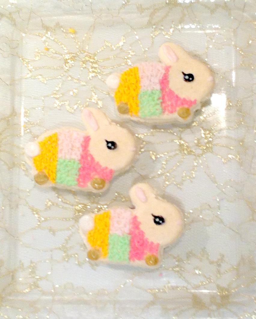 Rabbit Lantern macarons Cherie Kelly Cake London