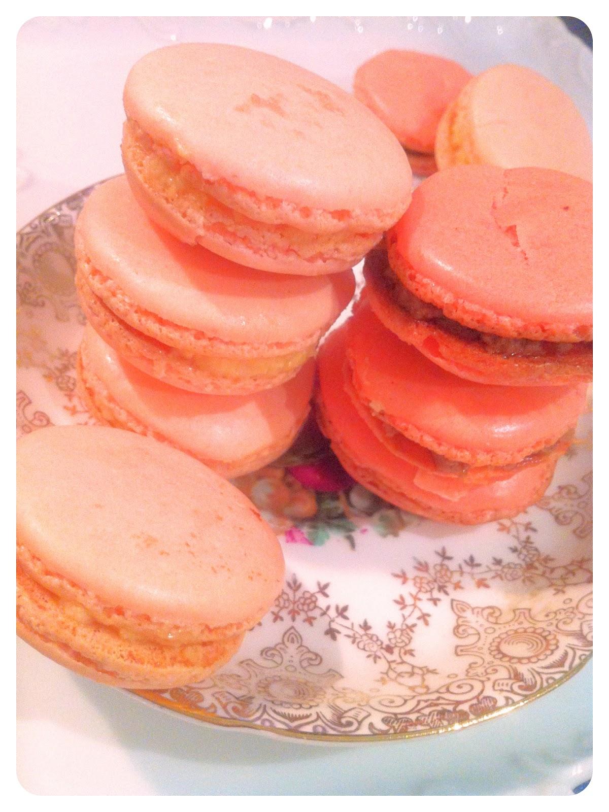 rose water macaron Cherie Kelly Cake London