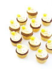 Bee honey cupcakes Cherie Kelly cakes London
